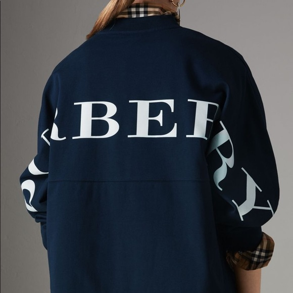 Burrberry back logo sweatshirt NWT